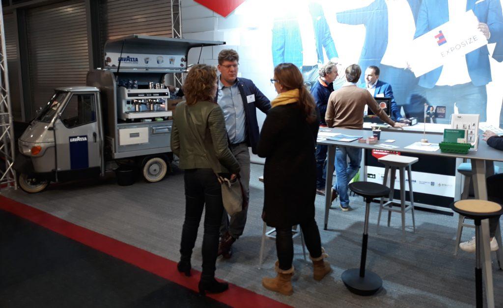 Voor vragen over verhuizen kunnen bezoekers terecht bij Patrick van Rooijen van Topmovers
